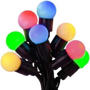 LED-Globe-Lichterkette 20er bunt Batterie / Timer Best Season 726-57