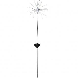 LED Solarstab FIREWORK schwarz 90er multicolor 100x26cm außen 480-54