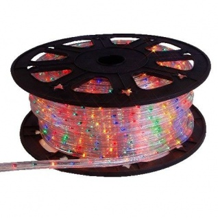 LED Lichtschlauch 45m bunt 12, 5mm kürzbar 565-08 Lichterschlauch
