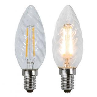 Illumination LED Filament E14 230V 180lm 1, 8W 2700K 352-05 Glühbirne