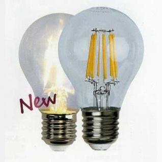 Illumination LED Leuchtmittel Filament E27 230V 700lm 6W 2700K 352-22 - Vorschau