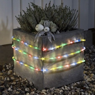 LED Lichtschlauch 9m multicolor Batterie / Timer Konstsmide 3745-500