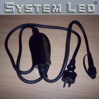 System LED Startkabel schwarz 1, 8m für Lichterkette 465-28