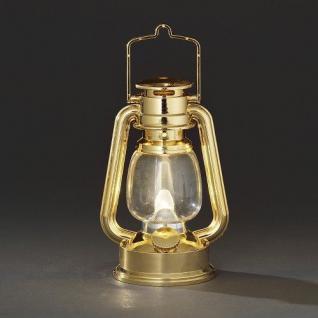 LED Sturmlaterne gold warmweiss flackernd Konstsmide innen 4129-800 Party