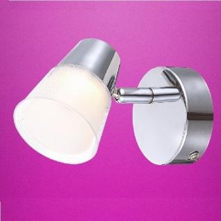 Globo LED Strahler Tieka 1-flammig 300lm 3000K chrom 56185-1