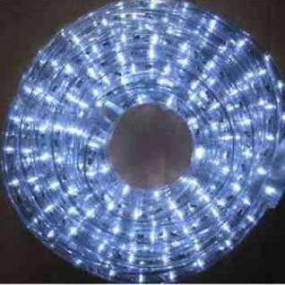 LED Lichtschlauch Lichterschlauch 10m kaltweiß BA11650