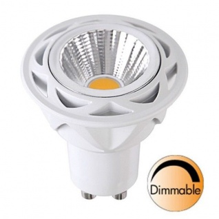Spotlight LED Leuchtmittel COB GU10 230V 350lm 5, 5W 2700K dimmbar 348-11