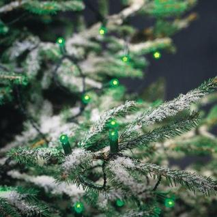 LED Lichterkette 200er grün 17, 9m Konstsmide 3053-900