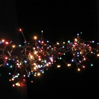 Micro Black Lichterkette Girlande 384er 2m multicolor außen 590-61 xmas
