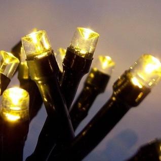 LED Lichterkette 40er warmweiß - grün 3, 9m außen BA11684 xmas