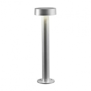 Alu LED Wegeleuchte PESARO grau 3000K 400lm Konstsmide 7910-310