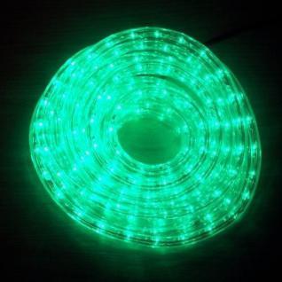 LED Lichtschlauch Lichterschlauch Superflex 6m grün 13mm 556-03 außen xmas
