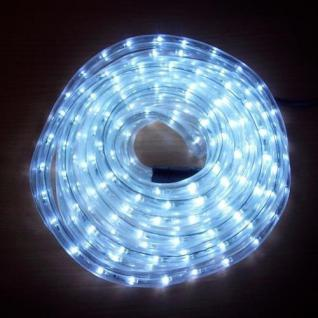 LED Lichtschlauch Lichterschlauch Superflex 6m cool light 13mm 556-01 außen xmas
