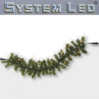 System LED Girlande Extra 50er warmweiß 3m extra Best Season 465-90