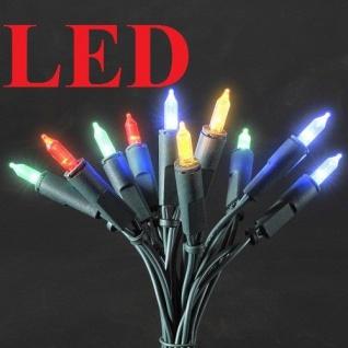 LED Mini-Lichterkette 100er bunt 14, 85m Konstsmide 6304-500