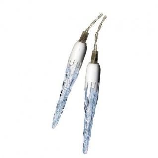 LED Eiszapfenlichterkette 3x0, 37m 20 Zapfen weiß Best Season 467-02