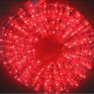 LED Lichtschlauch Lichterschlauch 10m rot außen innen BA11665