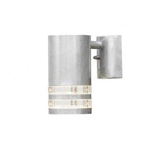 Stahl Wandleuchte galvanisiert MODENA BIG außen Strahler Konstsmide 7515-320