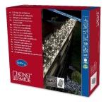 Micro LED Büschellichterkette Cluster 1160er warmweiß 6, 9m aussen 3794-100