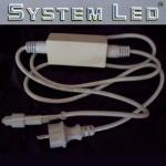 System LED Startkabel weiß 1, 8m 466-28