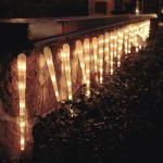 Eiszapfen Lichterkette 32 Zapfen 128 Birnen Konstsmide 2728-002 außen xmas