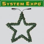 System Expo Stern Girlande Extra 50 Lichter 55cm Best Season 484-92