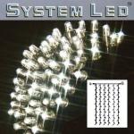 System LED Lichtervorhang extra 102er 1x2m Daylight / schwarz 465-57