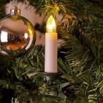 LED-Weihnachtsbaumbeleuchtung 25er innen ein Strang / Schalter 19, 2m 1004-020