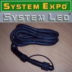 System Expo / System LED Verlängerungskabel 2m schwarz 484-26-02