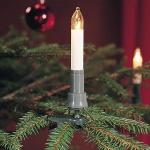 Schaftkerzen Weihnachtsbaumbeleuchtung 16er Stecker teilbar innen 1127-000