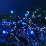 LED Lichterkette 120er blau außen 17, 85m Konstsmide 3120-400