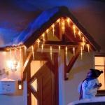 LED Eiszapfen Lichterkette 32 Zapfen warmweiß außen 2736-102 xmas