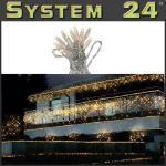 System 24 LED Lichterkette 49er 5m extra warmweiß 491-06 außen xmas