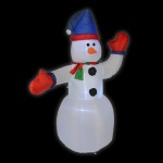 LED Air-Blown Schneemann 1, 8m selbstaufblasend aussen HI 54112