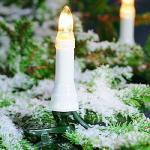 Weihnachtsbaumbeleuchtung 16er außen ein Strang 10.5m 1001-000