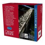 Micro LED Büschellichterkette Cluster 1540er warmweiß 9m aussen 3795-100