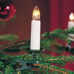 Weihnachtsbaumbeleuchtung 16er weiss teilbarer Stecker innen 2010-000 xmas