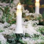 Weihnachtsbaumbeleuchtung 16er Topbirnen 10, 5m außen teilbarer Stecker 2011-000