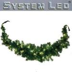 System LED Swag-Girlande Extra 100er warmweiß 1, 8m extra außen 465-92 xmas