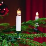 Weihnachtsbaumbeleuchtung 25er weiss teilbarer Stecker innen 2032-000 xmas