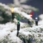 80er Mini-Lichterkette außen Birnen bunt Konstsmide 2020-500