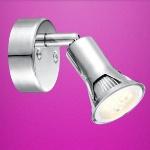Globo LED Strahler Dante 1-flammig 220lm 3000K GU10 chrom 57994-1