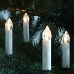 LED Weihnachtsbaumbeleuchtung 30er außen 10m warmweiß 09205