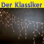 Eisregen Lichterkette 400er 10m aussen Konstsmide 2726-002