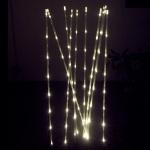 LED Leuchtstäbe 10er 70cm 80 Dioden warmweiß außen BA11441