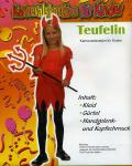 Karneval-Fasching-Kostüm 4-6 Jahre Teufelin 3 teilig