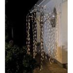 LED Trauerweide 384er warmweiß transparente Blätter 2, 5m 3376-600