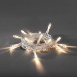 LED Lichterkette 20er warmweiß Batterie innen Konstsmide 1408-103