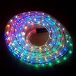 LED Lichtschlauch Lichterschlauch Superflex 6m bunt 13mm 556-02 außen xmas