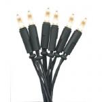 LED Mini-Lichterkette 35er warmweiß / grün innen P-LED 422-10 xmas